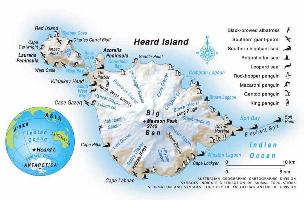 Heard Island (1/3)